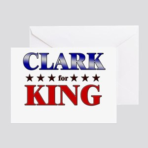 CLARK for king Greeting Card